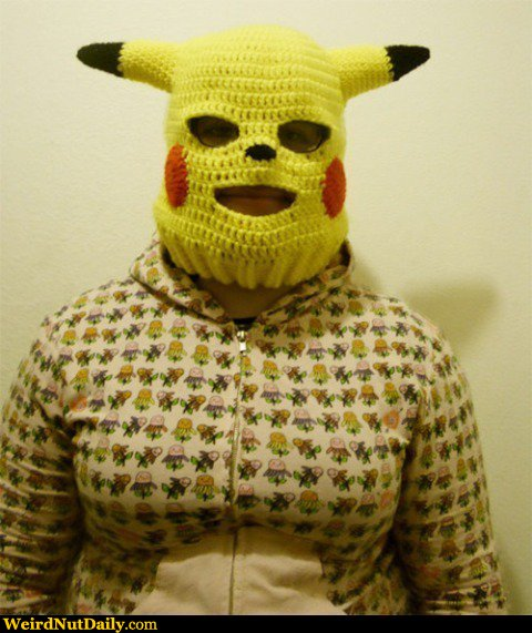 Knitting Fail Meme : Funny pictures weirdnutdaily creepy pokemon woman