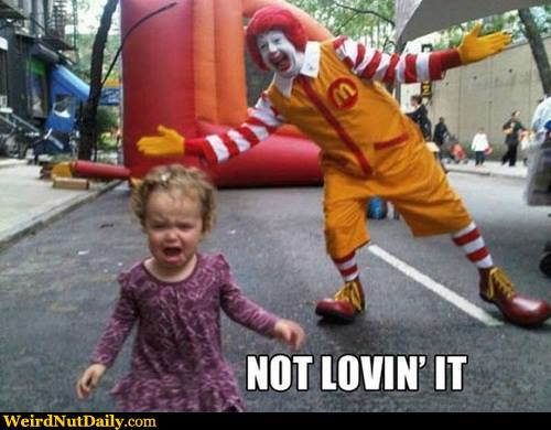 Running Away Funny Meme : Funny pictures weirdnutdaily not lovin it