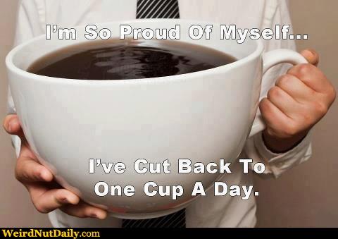 Caffeine Serving In Coffee