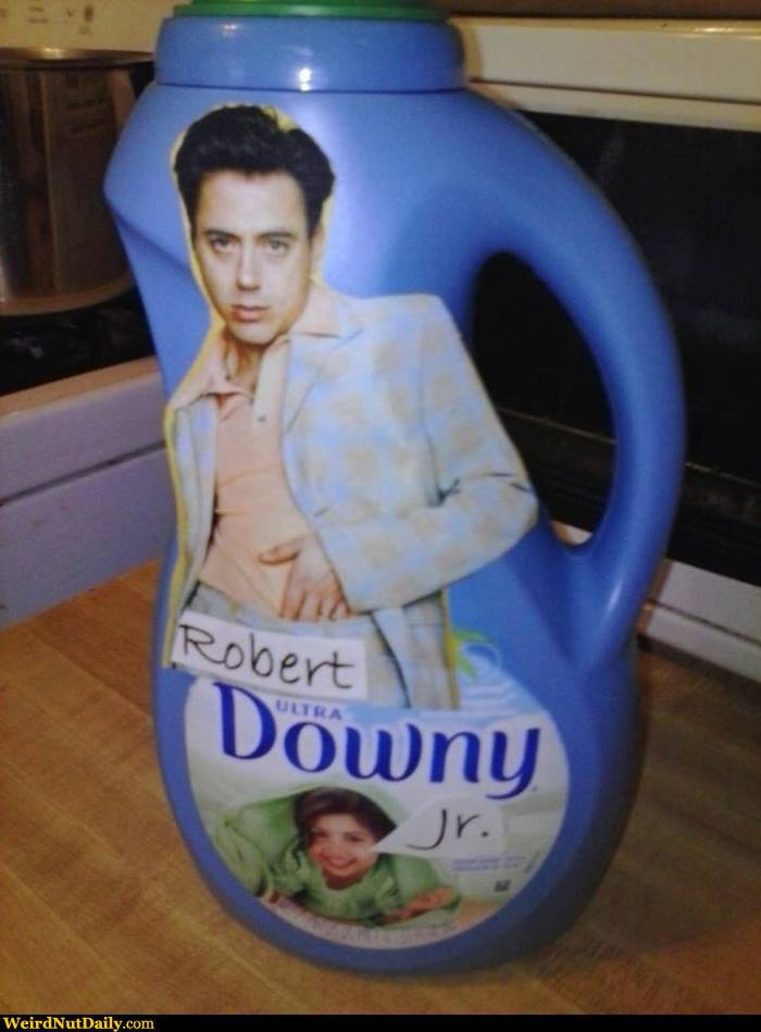 Funny Pictures @ Weird... Robert Downey