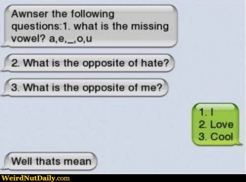 Funny pictures weirdnutdaily not so nice love text for So nice images
