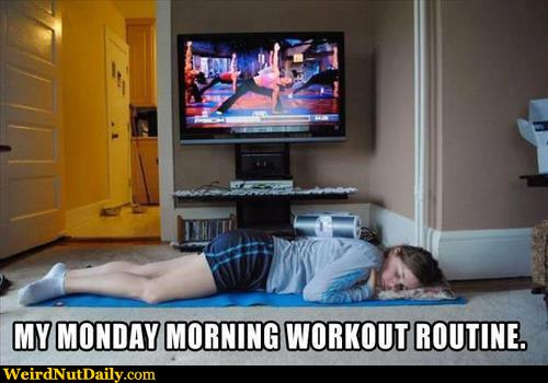 Morning Workout Meme Funny : Funny pictures weirdnutdaily monday morning workout