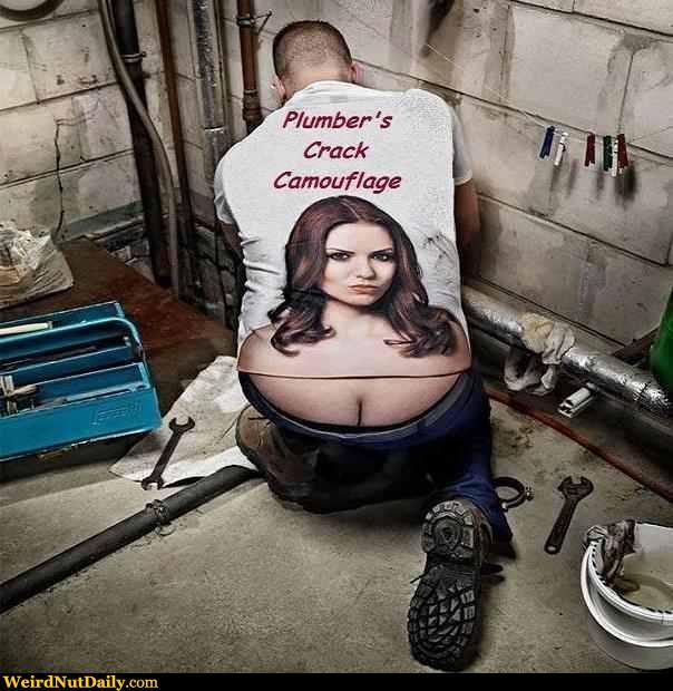 plumber crack camo
