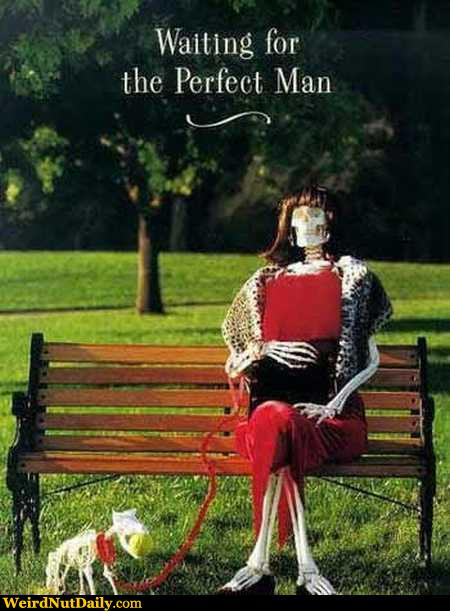 Funny Pictures @ WeirdNutDaily - Waiting for the Perfect Man
