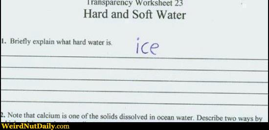 Funny Pictures @ WeirdNutDaily - Hard Water? Ice